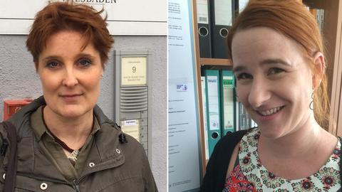 Kathinka Beckmann und Sandra Krause-Ackermann