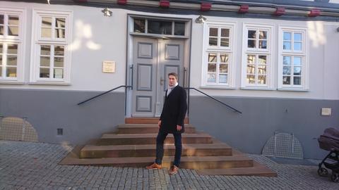 Bürgermeister von Homberg/Efze: Dr. Nico Ritz (parteilos)
