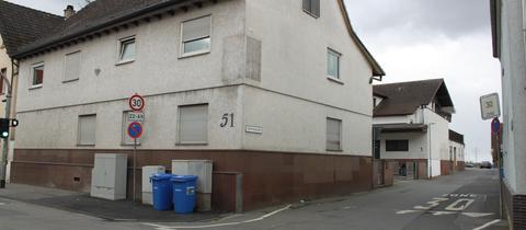 Flüchtlingswohnheim in der Gambrinusstrasse in Pfungstadt