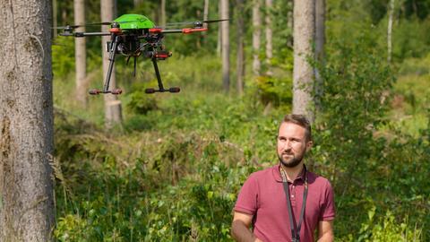 Drohne im Einsatz