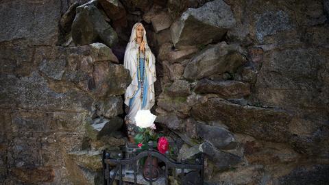 Maria-Statue