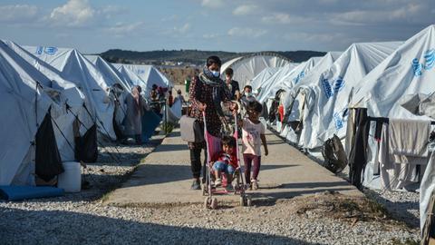 Flüchtlingslager Kara Tepe