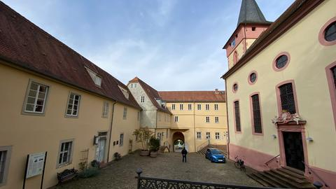 Innenhof Rathaus Bad König