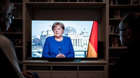 Merkels Rede an die Nation wegen Coronavirus