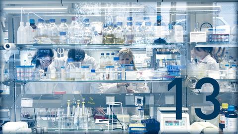 Biotechnologie-Labor
