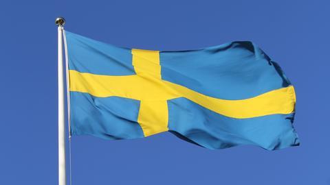 Schweden-Fahne