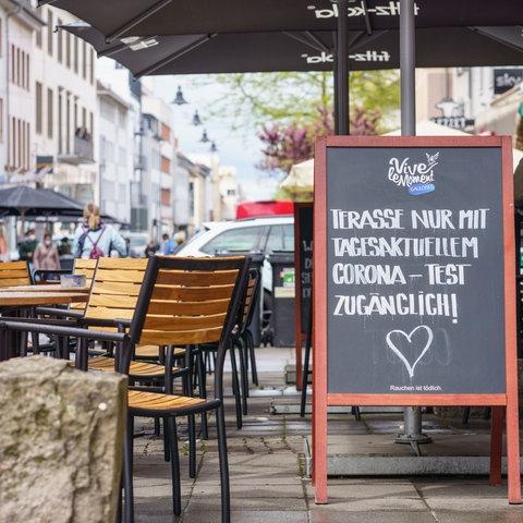 Außengastronomie Darmstadt