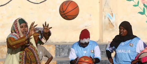Basketball Mogadischu
