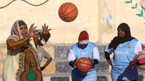 Basketball Mogadischu