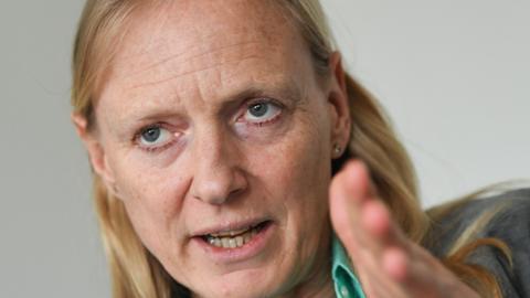 Birgitta Wolff, Präsidentin der Johann-Wolfgang-Goethe-Universität in Frankfurt am Main