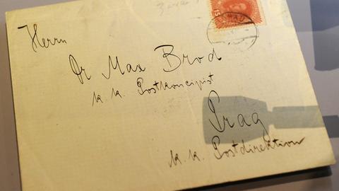 Briefumschlag mit Handschrift