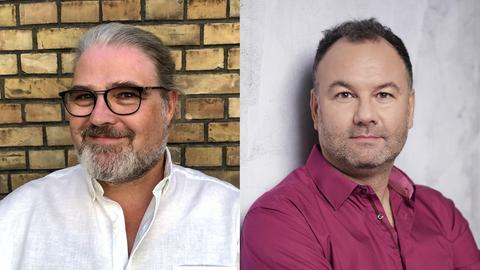 Die Autoren: Stefan Bücheler und Riccardo Mastrocola (hr-iNFO Politikredaktion)
