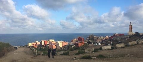 Barrio Principe, ärmliches Stadtviertel in Ceuta