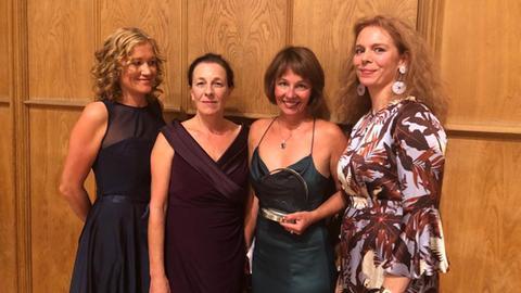 Die Preisträgerinnen des Childhood Award 2019