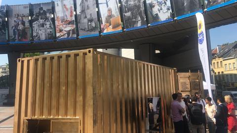 Container Brüssel