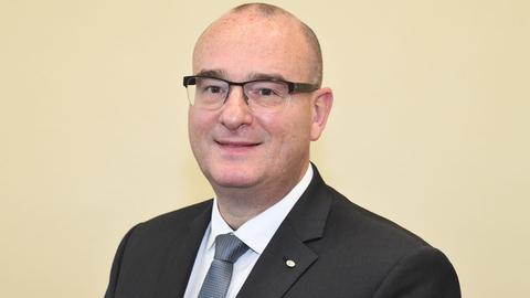 Dirk Peglow, Landesvorsitzender des Bundes der Kriminalbeamten in Hessen