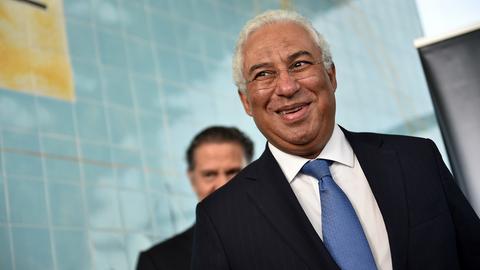 Der portugiesische Ministerpräsident António Costa lächelt