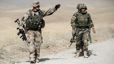 Bundeswehr-Soldaten im Irak