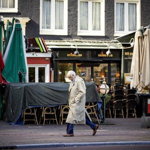 Geschlossene Restaurants in der Innenstadt von Amsterdam