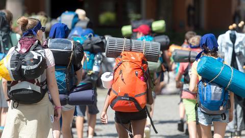 Jugendliche Reisende