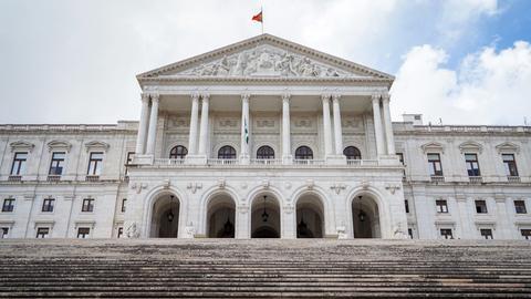 Der portugiesische Regierungssitz in Lissabon