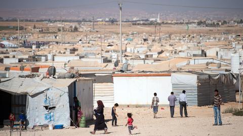 Flüchtlingscamp Za'atari