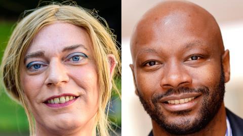 Collage: Tessa Ganserer (links) und Armand Zorn (rechts)