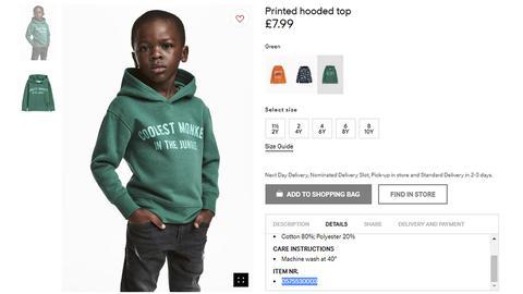 Ärger um Werbefoto von H&M