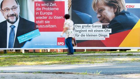 dpa Wahlplakate