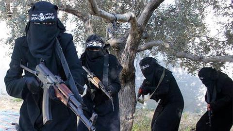 Junge Frauen und der IS
