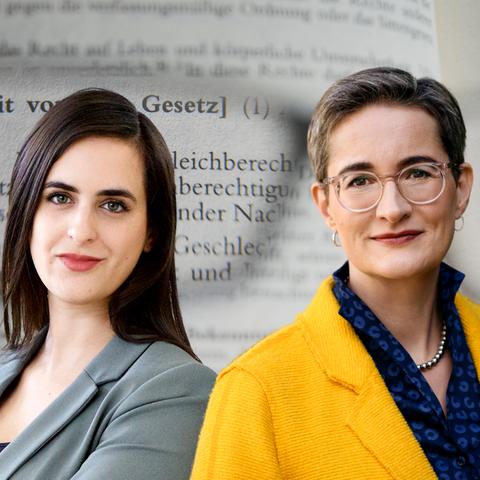 Sara Bhatti und Karoline Preisler