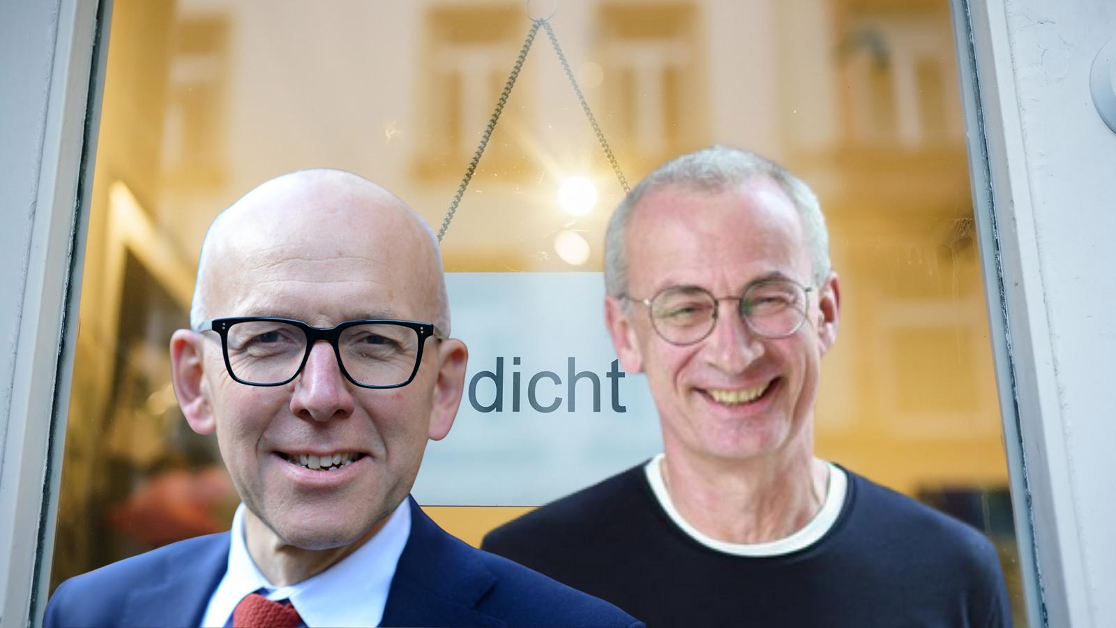 Heinz Bude und Jens Borchers