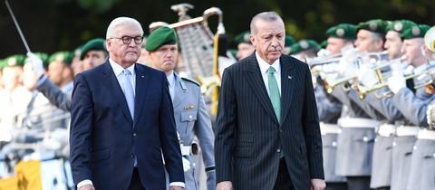 Erdogan Empfang in Berlin