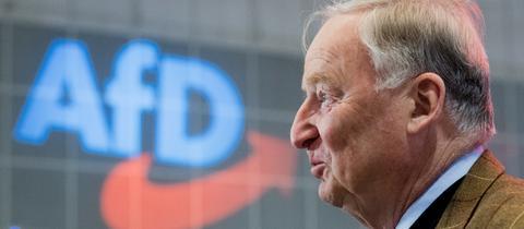 Alexander Gauland beim AfD-Parteitag in Hannover