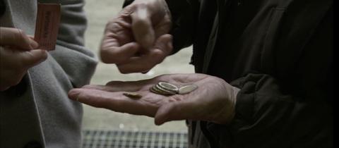 Geld zählen, Altersarmut