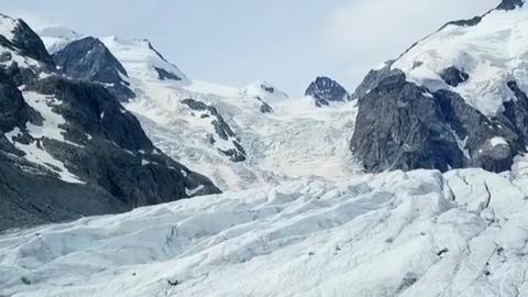 Der Morteratsch ist der meistbesuchte Gletscher der Schweiz und hat eine Länge von mehr als sechs Kilometern.