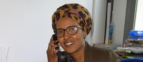 Halima Gutale, Integrationsbeauftragte der Stadt Pfungstadt