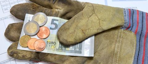 Arbeitshandschuh mit 9,19 Euro Mindestlohn