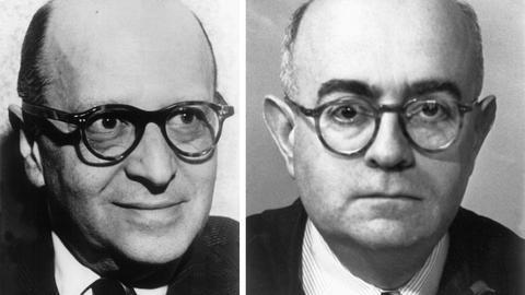 Max Horkheimer und Theodor W. Adorno