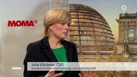 Julia Klöckner im ARD-Morgenmagazin