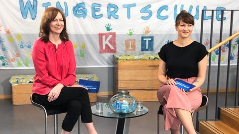 Ute Wellstein und Sandra Müller
