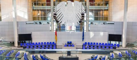 Bundestag leer