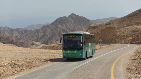 Ein Bus in Israel