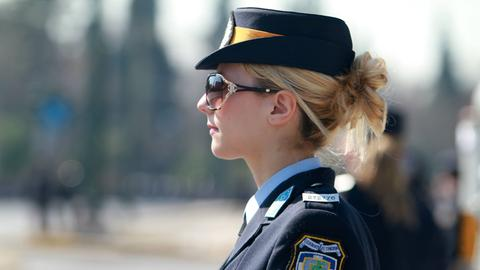 Polizistin Griechenland