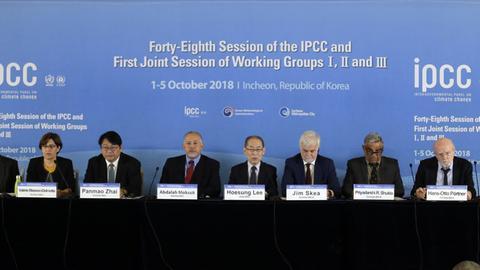 Mitglieder des Weltklimarates (IPCC)