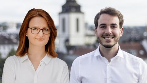 Ronja Kemmer (CDU) und Felix Döring (SPD)