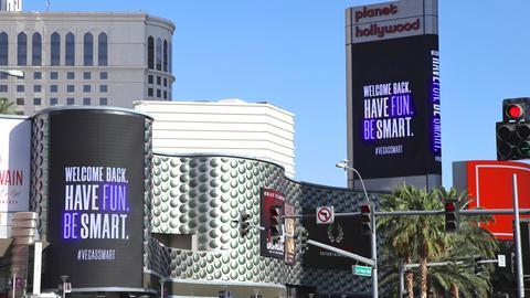 In Las Vegas öffnen Casinos und Geschäfte wieder