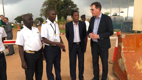 Entwicklungsminister Müller in Sambia