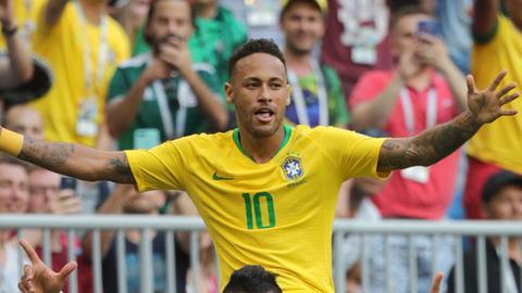 Brasiliens Fußball-Star Neymar