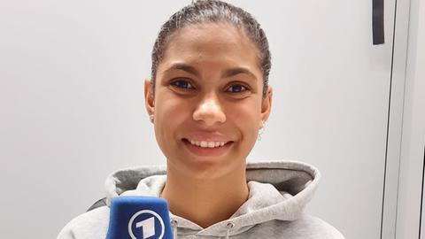 Schwimmerin Anna Elendt